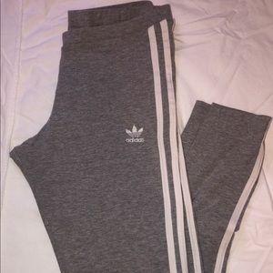 Grey Adidas Leggings